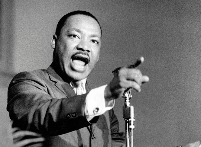 "Watch Martin Luther King Jr.'s speech at Stanford University about ""The Other America"" 